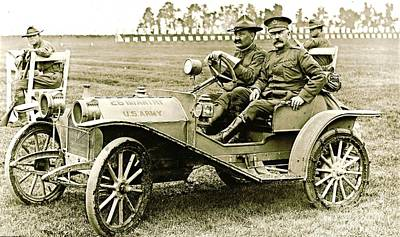 Us Army Huppmobile 1910 Art Print