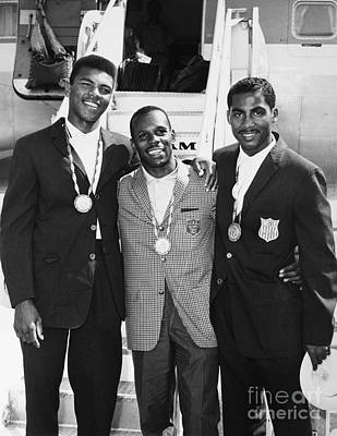 Photograph - U.s. Boxing Team, 1960 by Granger