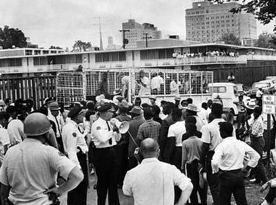 Paddy Wagon Photograph - Us Civil Rights. Civil Rights by Everett