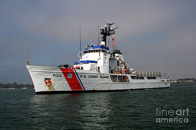 Photograph - U.s. Coast Guard Cutter Steadfast by Michael Wood