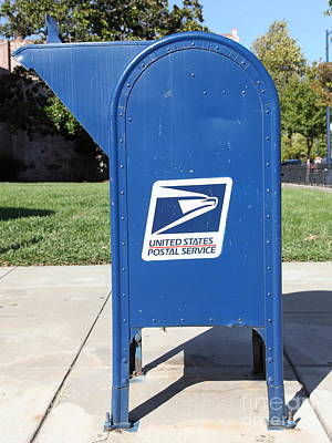 Postoffices Photograph - Us Mail Box . 5d18813 by Wingsdomain Art and Photography