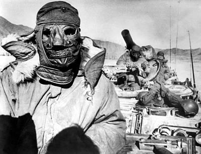 U.s. Marines In Korea During The Korean Print by Everett
