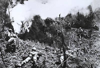 Photograph - U.s. Marines In Okinawa by Omikron