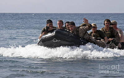 All You Need Is Love - U.s. Marines Participate In Sustainment by Stocktrek Images