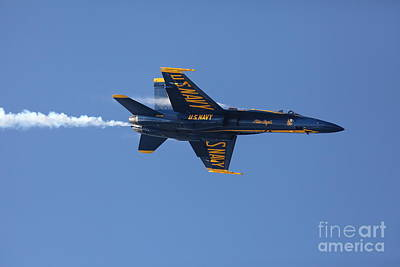 Photograph - Us Navy Blue Angels - 5d18983 by Wingsdomain Art and Photography