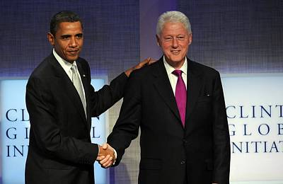U.s. President, Barack Obama, Former Print by Everett