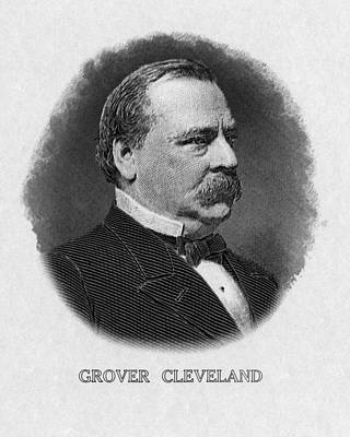 1880s Photograph - Us Presidents. Us President Grover by Everett