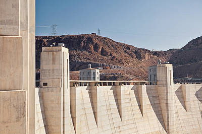 Y120907 Photograph - Usa, Nevada, Boulder City, Part Of Hoover Dam by Bryan Mullennix
