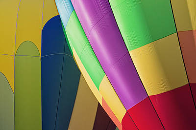 Y120907 Photograph - Usa, Oregon, Tigard, Close-up Of Balloons by Bryan Mullennix