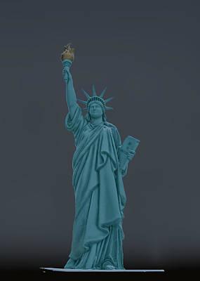 Goddess Of Liberty Photograph - Usa Statue Of Liberty by LeeAnn McLaneGoetz McLaneGoetzStudioLLCcom