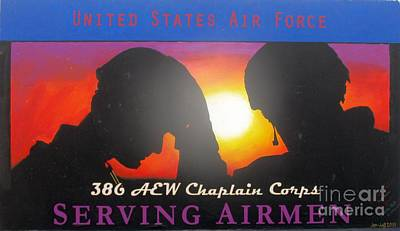 Usaf - Chaplain Corps Art Print by Unknown