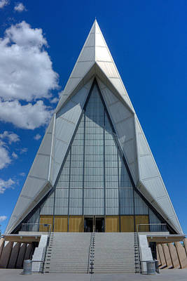 Photograph - Usaf Academy Chapel - 4 by David Bearden