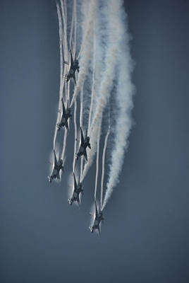 Photograph - Usaf Thunderbirds by Tim Beach
