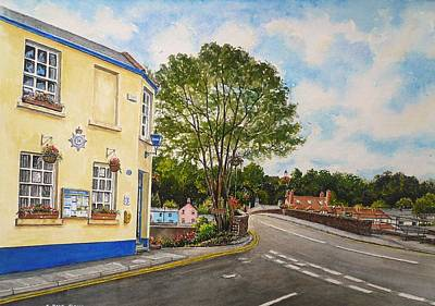 Usk Police Station  Art Print by Andrew Read