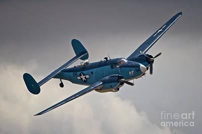 Usn Lockheed Hudson Chino 2011 Art Print