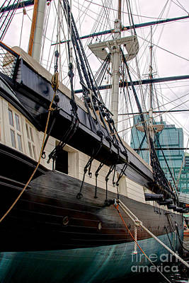 Photograph - Uss Constellation by Mark Dodd