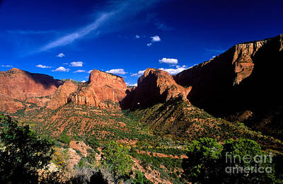 Photograph - Utah - Kolob Canyons by Terry Elniski