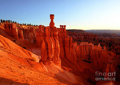 Photograph - Utah - Thor's Hammer 2 by Terry Elniski