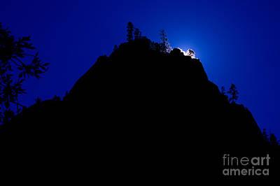 Photograph - Utah - Zion Silohuette by Terry Elniski