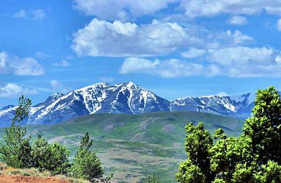 Photograph - Utah Mountains by Kristin Elmquist