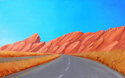 Painting - Utah Westbound by Alan Johnson