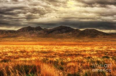 Katharine Hepburn - Utahs West Desert at Dusk by Dennis Hammer
