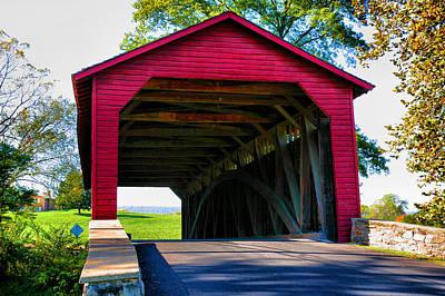 Utica Mills Bridge I Art Print by Steven Ainsworth