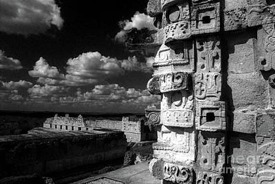 Photograph - Uxmal Ruins Yucatan Mexico by John  Mitchell
