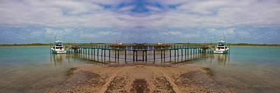 Topsail Island Beach Digital Art - Vacation Reflection by Betsy Knapp
