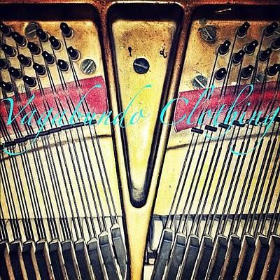 Piano Photograph - #vagabundoclothing#vpem by Draco Rosa