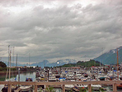 Photograph - Valdez Harbor by Helen Haw