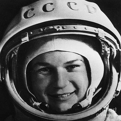 Photograph - Valentina Tereshkova by Granger
