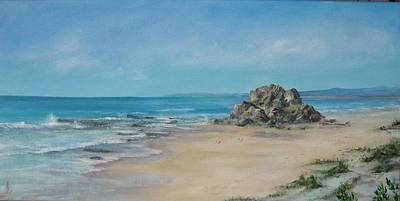 Valla Beach Art Print by Rita Palm
