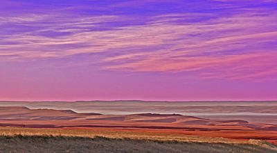 Photograph - Valley Glow by Jim Justinick