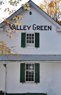 Valley Green Inn - Side View Art Print
