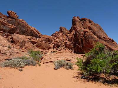 Photograph - Valley Of Fire 1 by Joel Deutsch