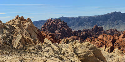 Photograph - Valley Of Fire 1 Of 4 by Gregory Scott