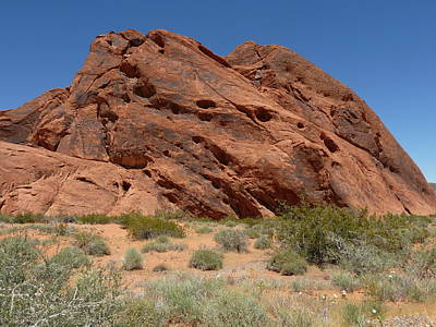 Photograph - Valley Of Fire Venus by Joel Deutsch