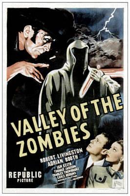 Valley Of The Zombies, Top Left Ian Art Print