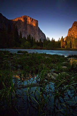Photograph - Valley View At Sunset by Rick Berk