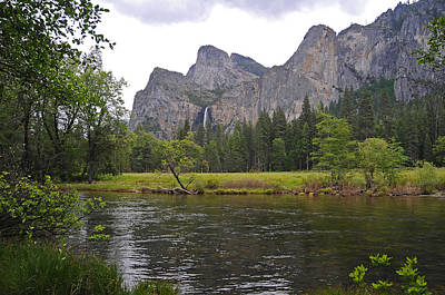 Photograph - Valley View Of Bridalveil Falls by Lynn Bauer