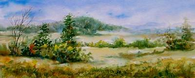 Arkansas Painting - Valley View by Virginia Potter
