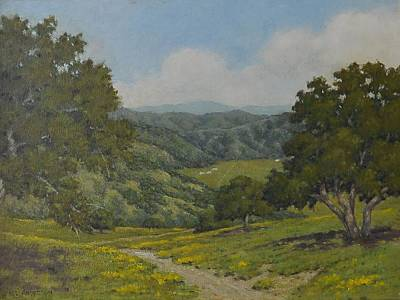 Painting - Valley1 by Marv Anderson