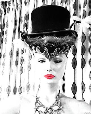 Digital Art - Vamp Three by Lizi Beard-Ward