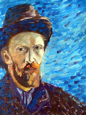 Painting - Van Gogh  by Andrea Realpe