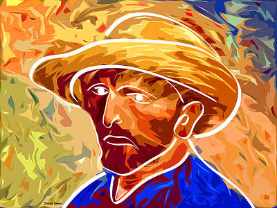 Digital Art - Van Gogh Reinvented by Stephen Younts