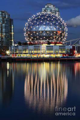 Telus Photograph - Vancouver British Columbia 1 by Bob Christopher