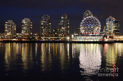 Telus Photograph - Vancouver British Columbia 2 by Bob Christopher
