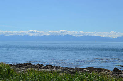 Photograph - Vancouver Island Shore View by Ann Marie Chaffin