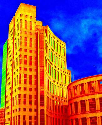 Vancouver Library 4 Art Print by Randall Weidner